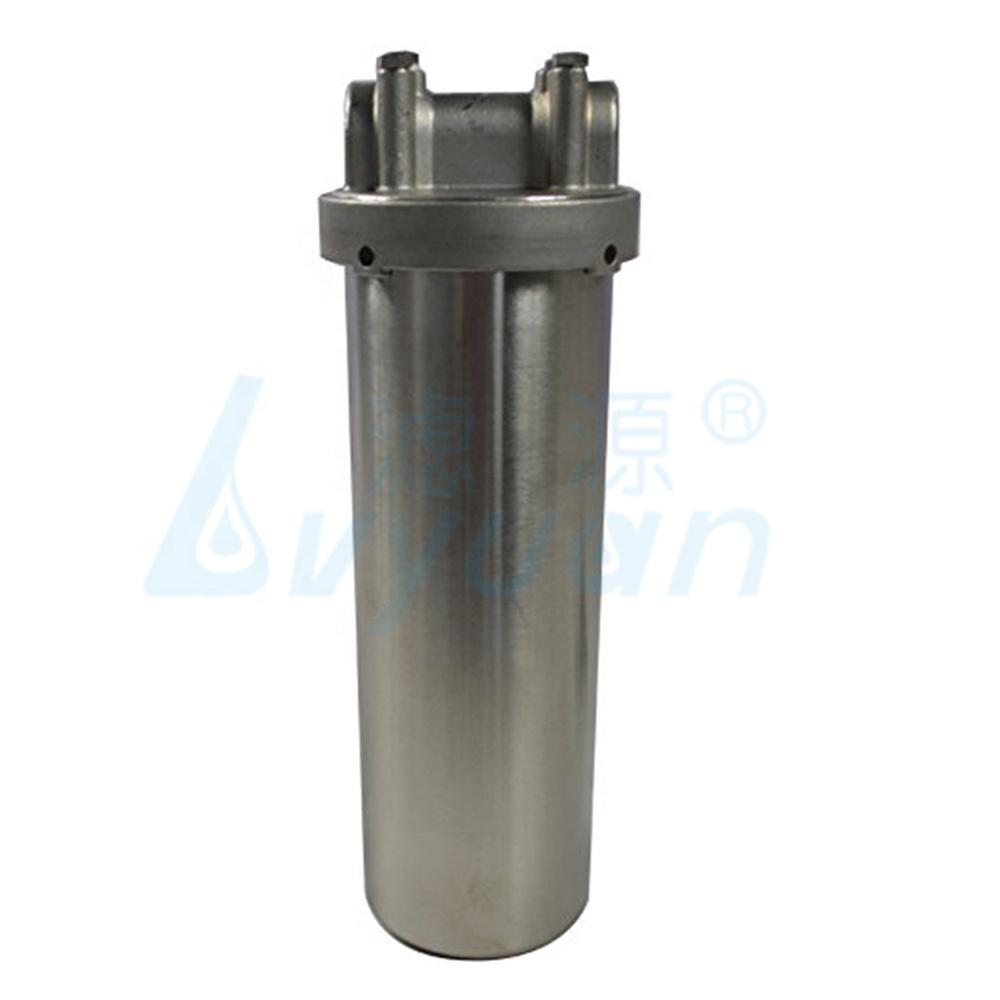 single cartridge filter housing /222flat 226flat cartridge stainless steel 10 inch water filter housing