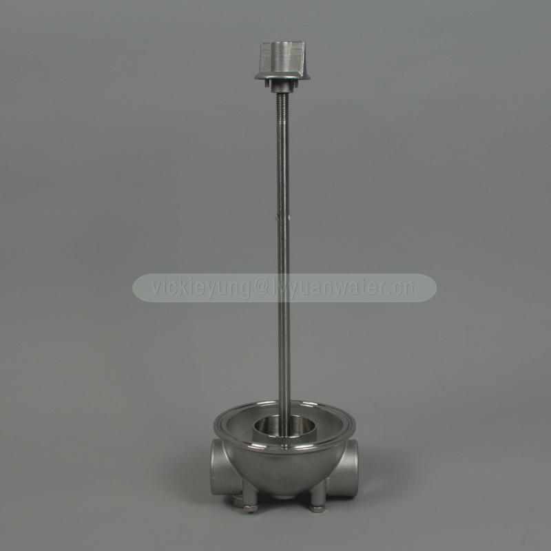 Industrial cylinder stainless steel tank 10 inch water filter housing ss with 222 flat single cartridge filter EPDM