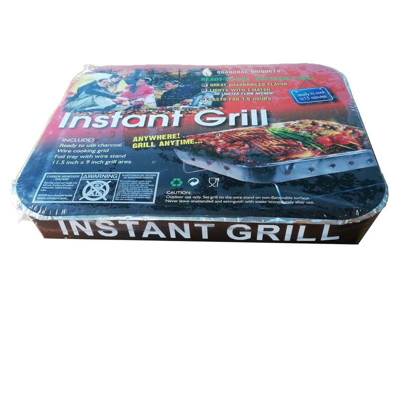Instant BBQ Grill with strong iron stand