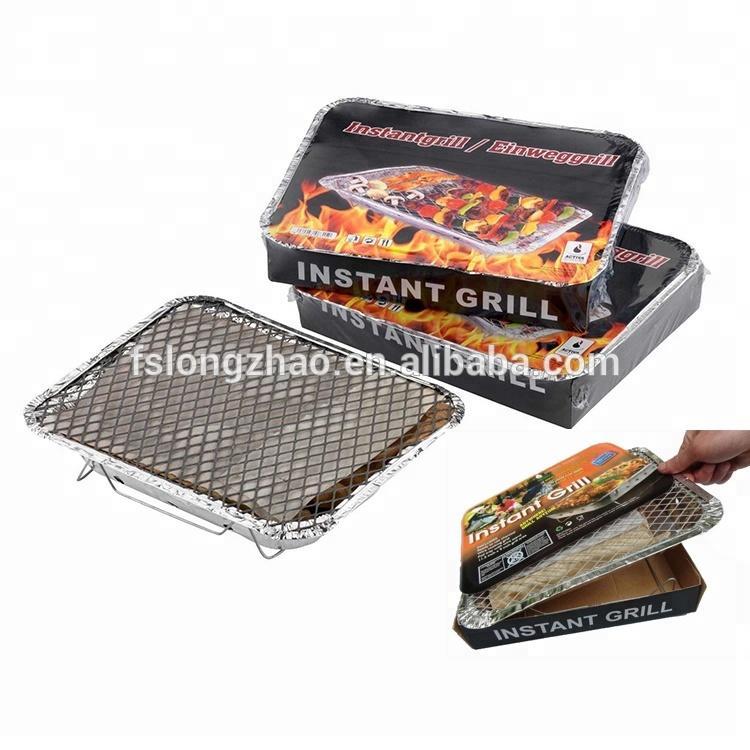 Light duty outdoor folding bbq grill camping grill bbq