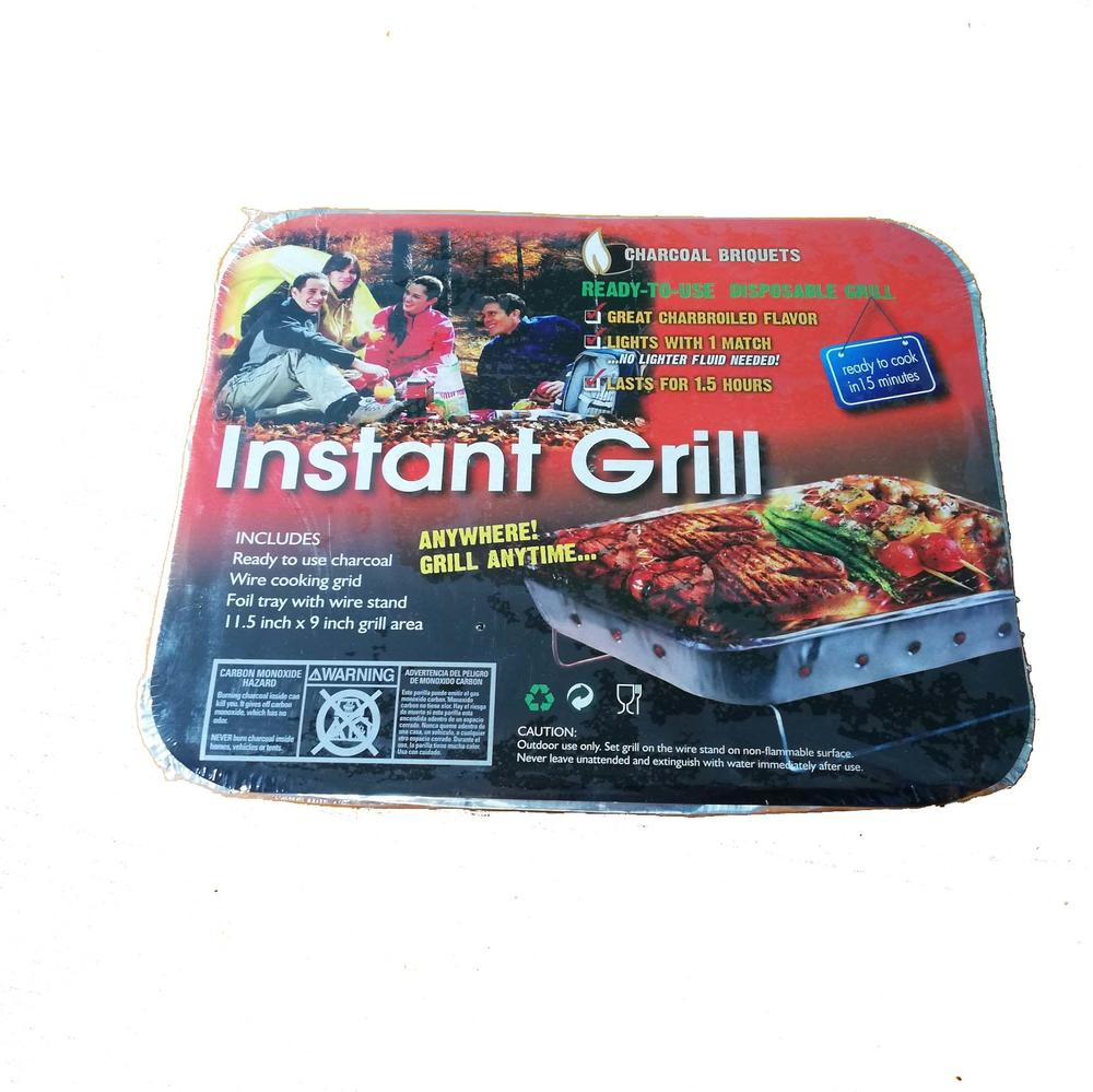 High Quantity One-used Instant Disposable Barbecue Grill