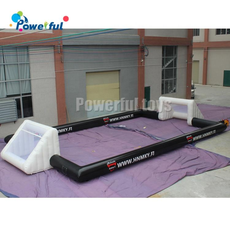 Ready to ship Small Size Outdoor Football Game Inflatable Soap Soccer Field