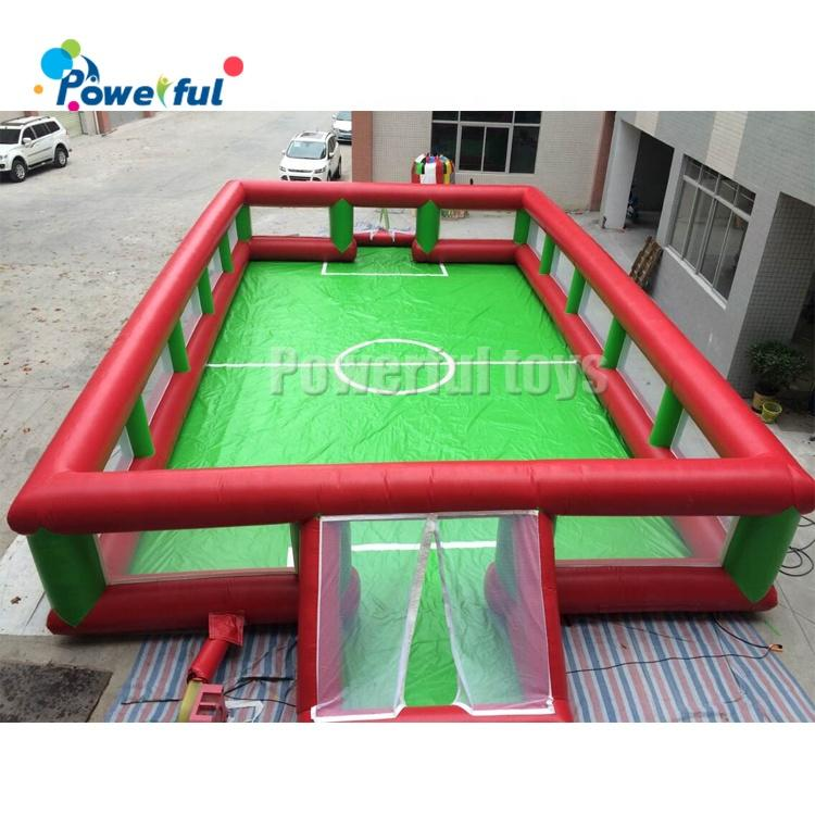 High Quality Outdoor Durable Inflatable Football Field Soccer Arena for Kids