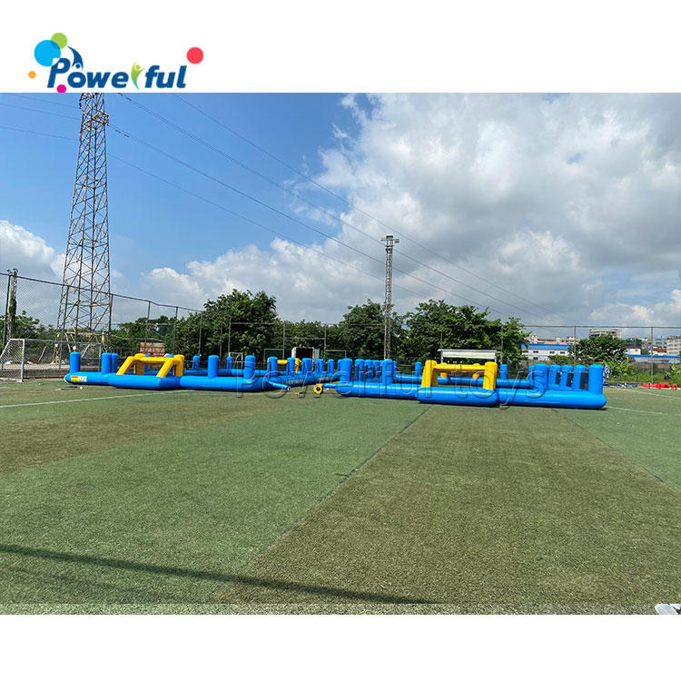 New PVC material inflatable soccer field for sale inflatable soccer field durable football pitch