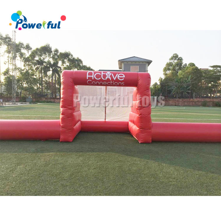 CE certificated Inflatable soapy stadium football soap soccer field for sale