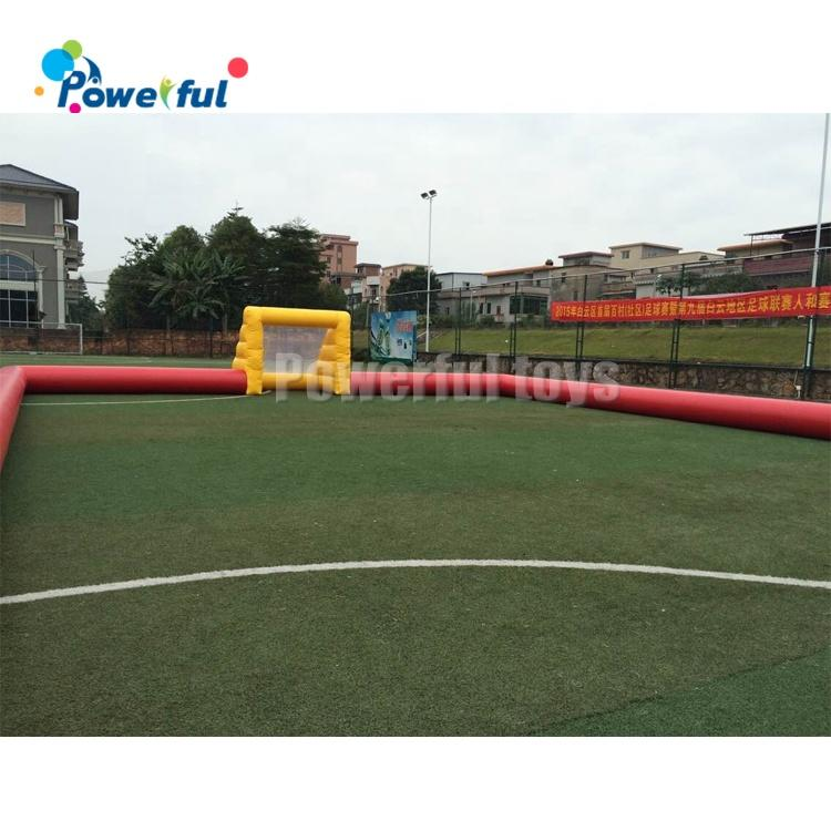 20x15m size inflatable football field for sale outdoor footb field for soap football match