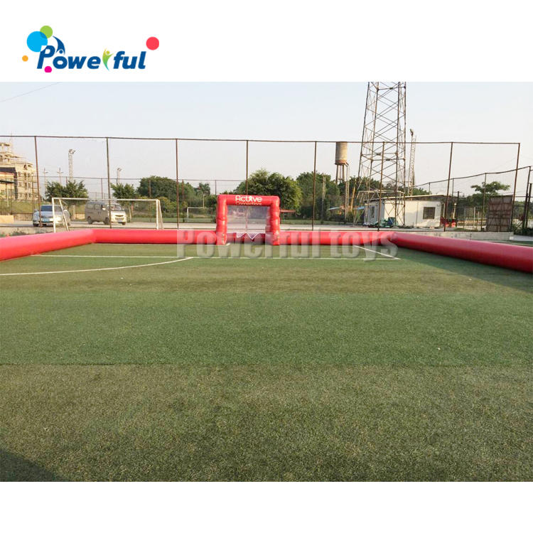 outdoor Inflatable soapy stadium football soccer field