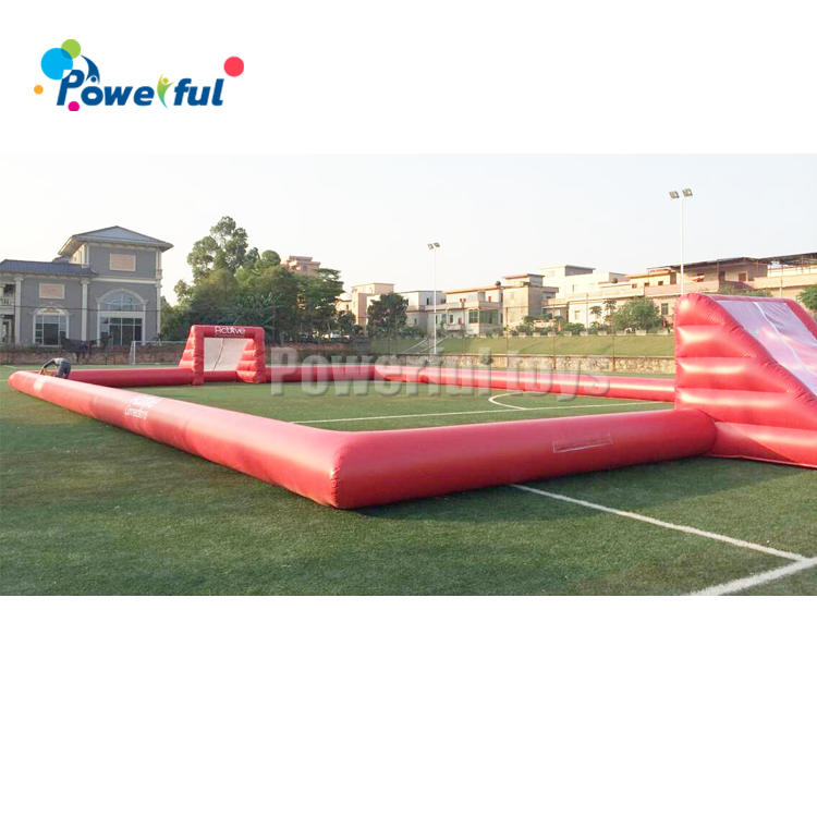 New style giant inflatable football field outdoor inflatable soccer arena