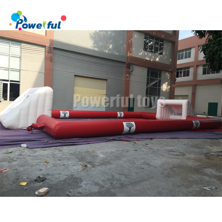 Outdoor inflatable soap football field soccer court football pitch