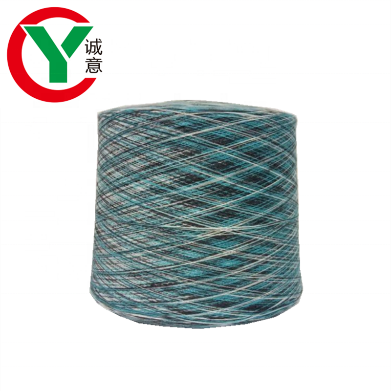 Factory hot sales weaving used modacrylic cotton blended yarn