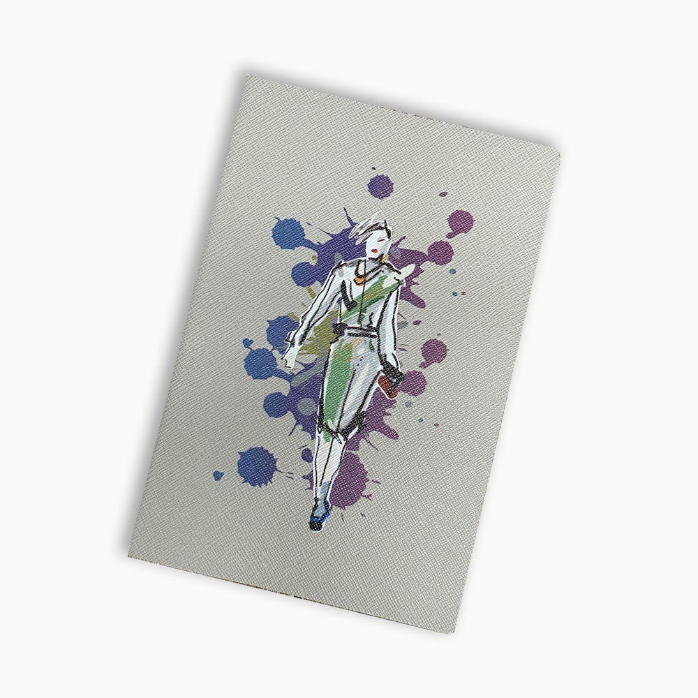High Quality Notebook Print Custom Soft Cover Lined Journal Notebook