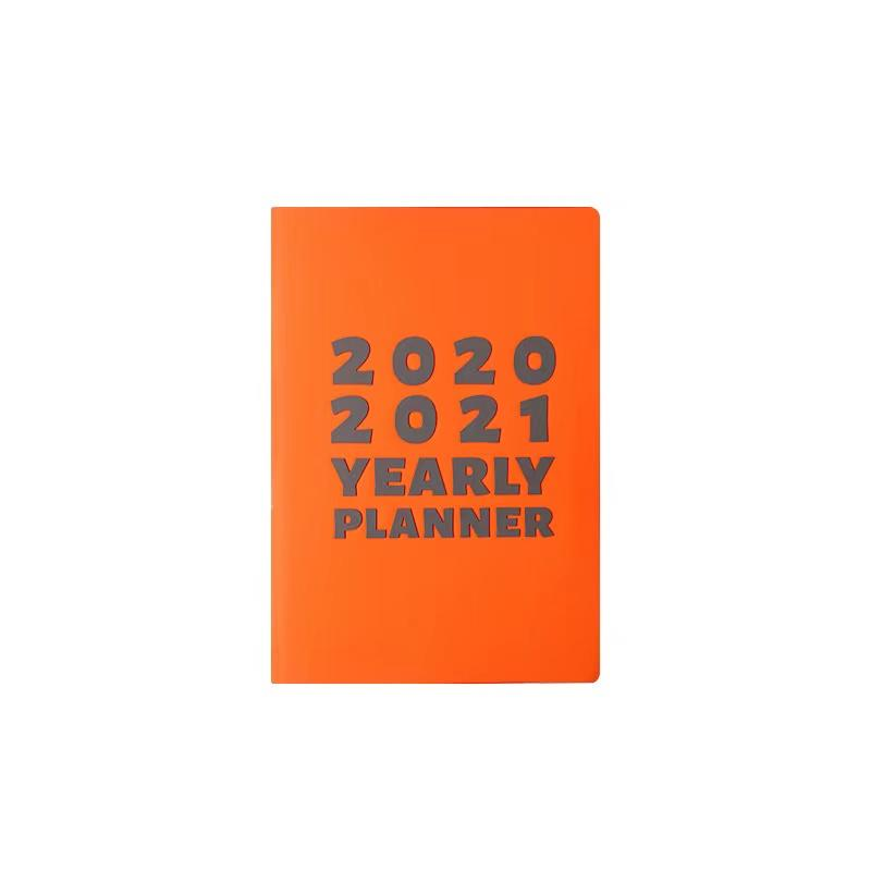 product-Dezheng-2021-2022 Planner Monthly Agenda Personalized Name PU Notebook With Glitter-img-1