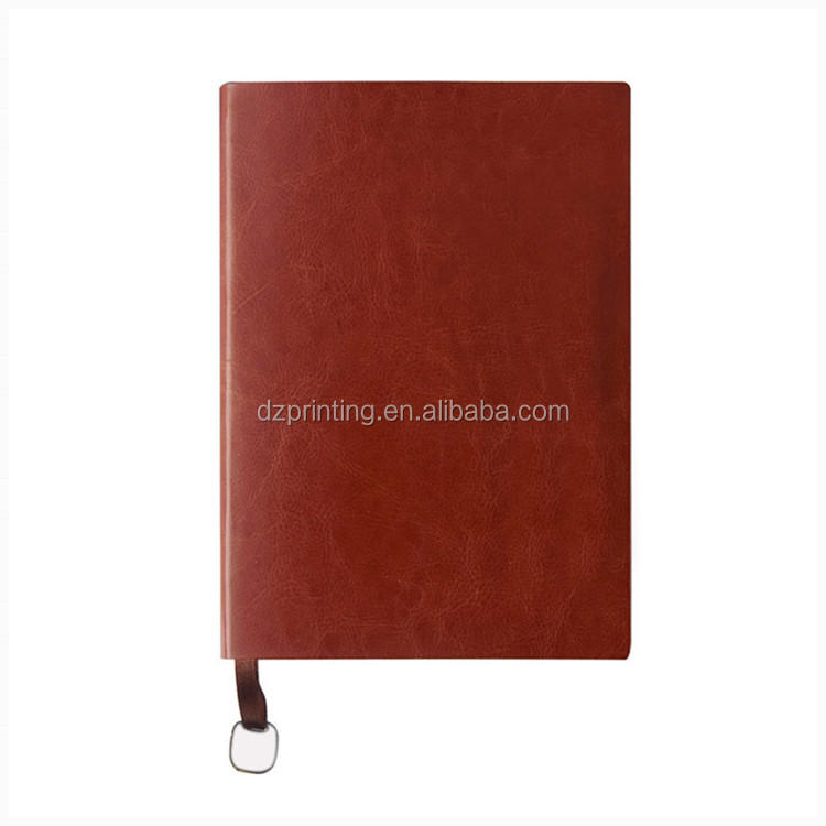 product-China Suppliers Prefect Binding Vintage Leather Notebook With Calendar Weekly Planner-Dezhen-1