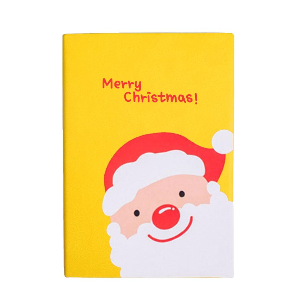 2020 A5 Christmas Coloring Soft Cover Children Book Hot PU Notebook