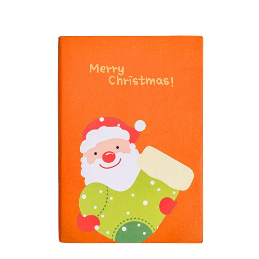Hot Sale A5 Children Christmas Books Printing SoftLeather Cover Journals
