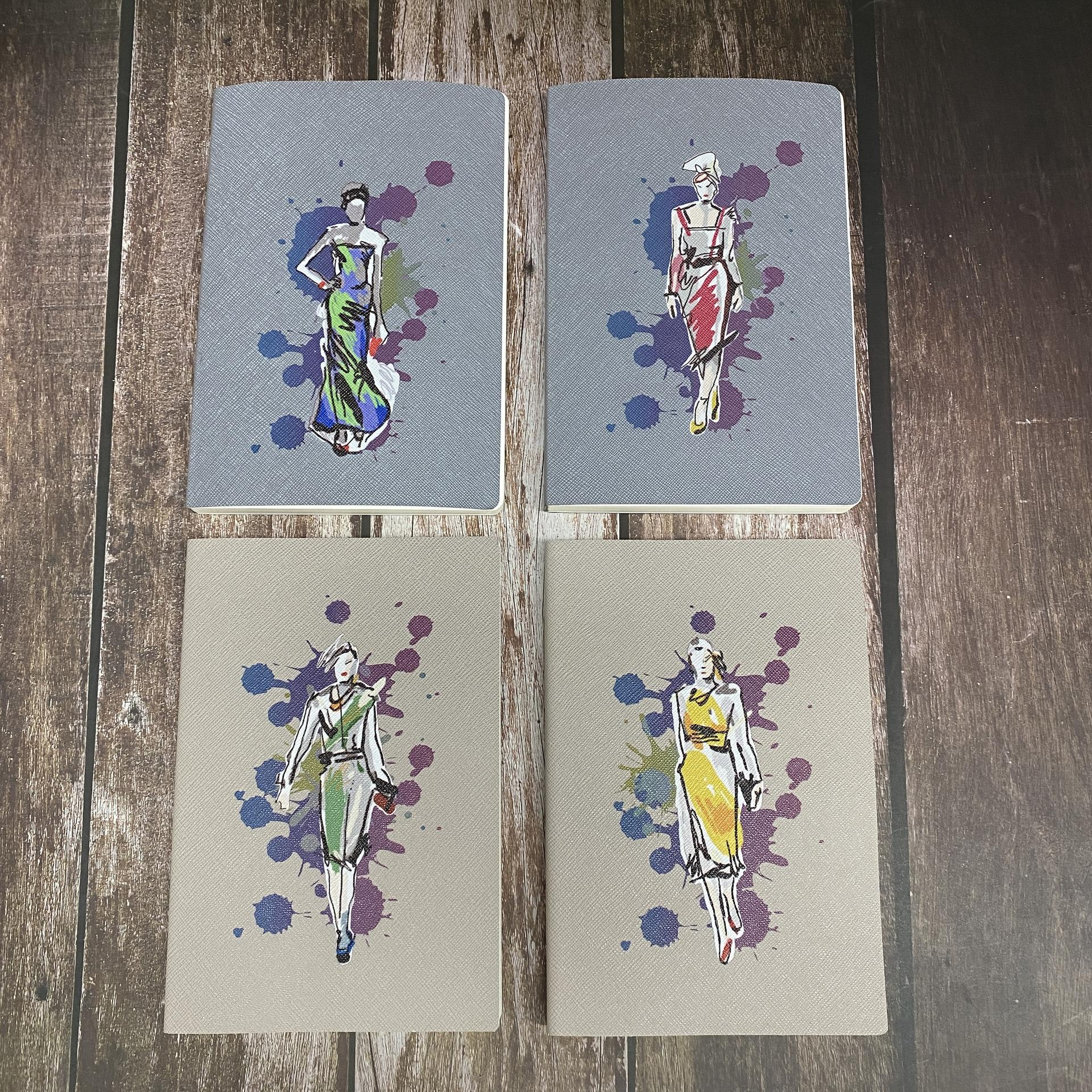 product-Dezheng-A5 Fancy Children Book Printing Softcover UV Offset Ink PU Notebook Cover-img-1