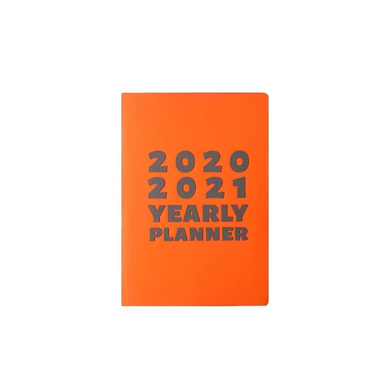 A5 2021 Smart PU Leather Notebook Personalized Day Designer Planner Promotional Agenda