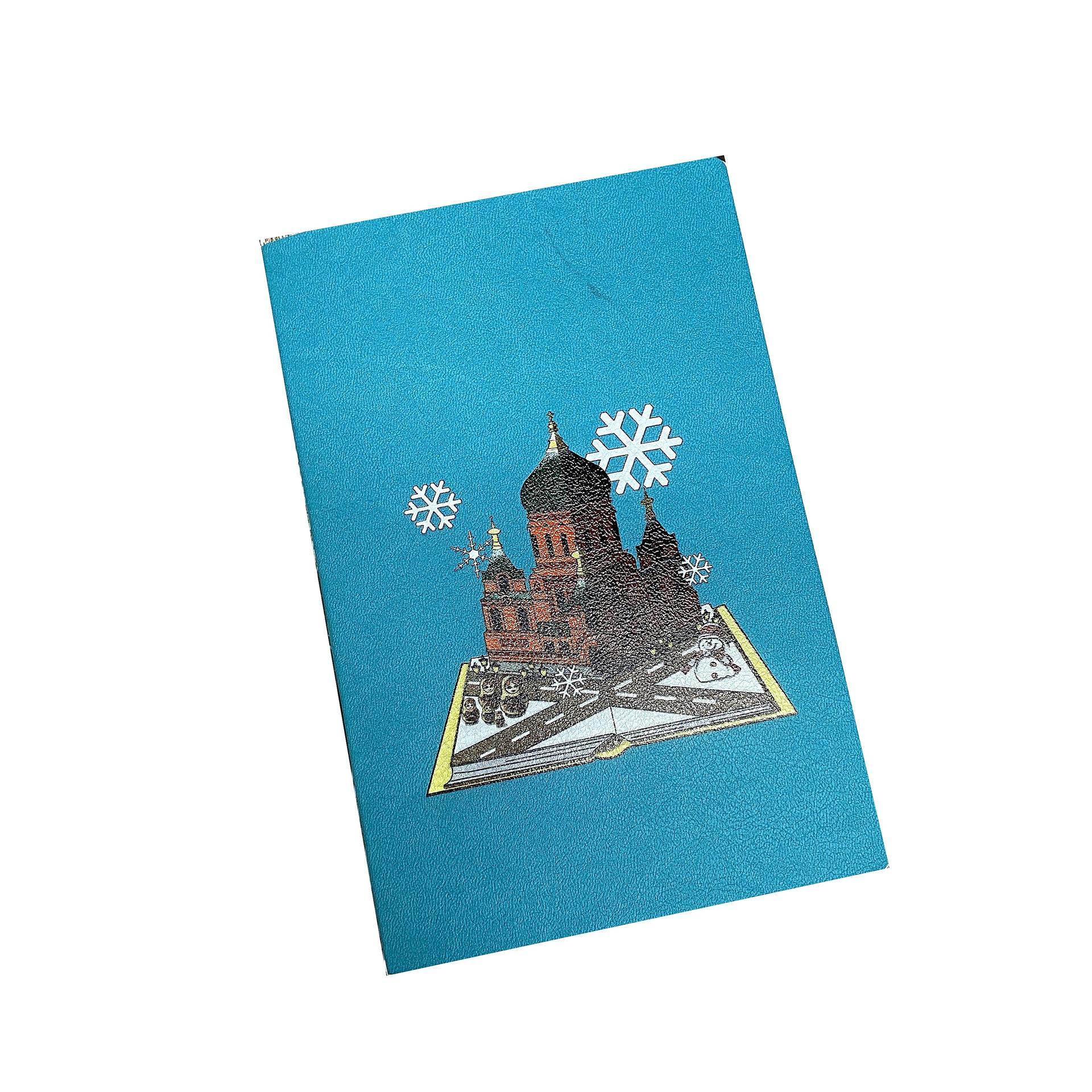 product-Custom Softcover Notebook Custom Printing Hardcover Horizontal Notebook-Dezheng-img-1