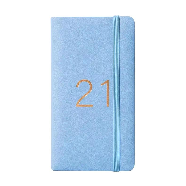 product-Custom 2021 Planner Agenda Journal And School Planner Soft Glitter PU Notebook-Dezheng-img-1