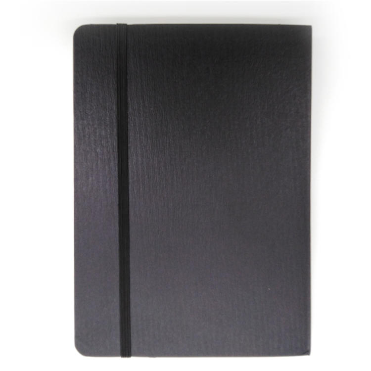 A5 Wholesale Top Grain Journal Printing Leather Hardcover Notebook