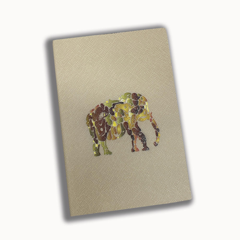 High Quality Business A5 Notebook PU Leather Printer Book Custom Notebook