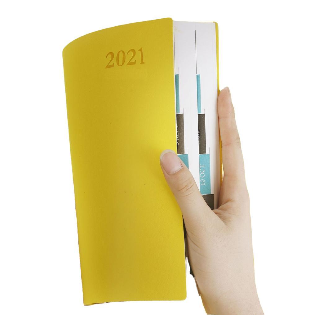 A5 Custom PU Notebook High End Business Notebook Gift Journal Soft Cover Diary