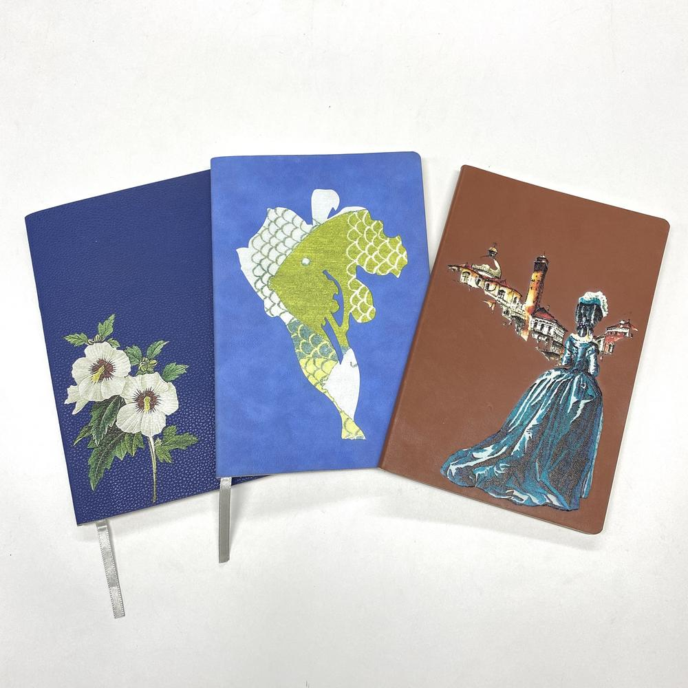 A5 Fancy Children Book Printing Softcover UV Offset Ink PU Notebook Cover