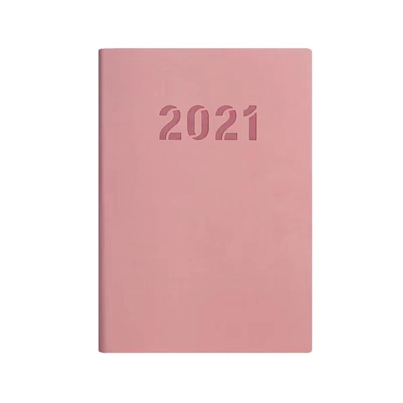 product-A5 Hot Sale Custom High End PU Notebook Soft Leather Cover Diary Personalised-Dezheng-img-1