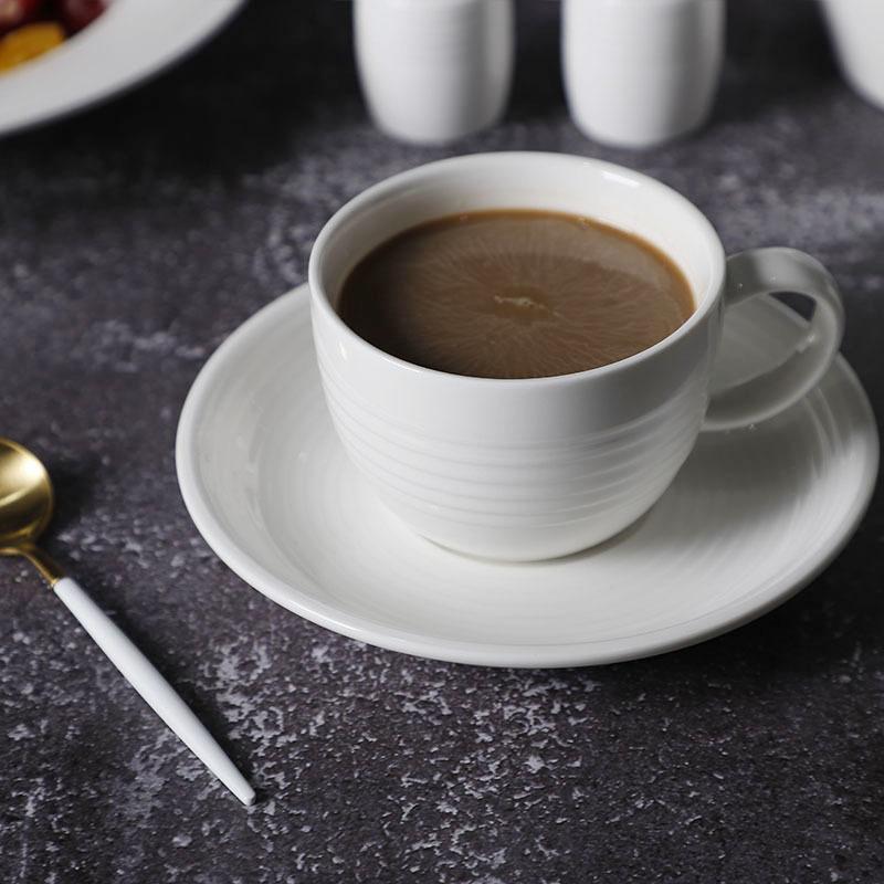 Crokery Hotelware In Dinnerware Sets, Wedding Event European Tableware, White Dinner Set Porcelain^