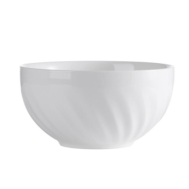 White Dinnerware Ceramic Dinner Set Porcelain Hotel Wedding Tableware Sets