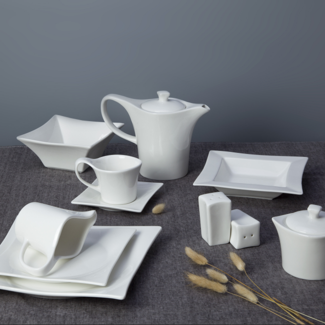 Restaurant supplier european style crockery tableware set