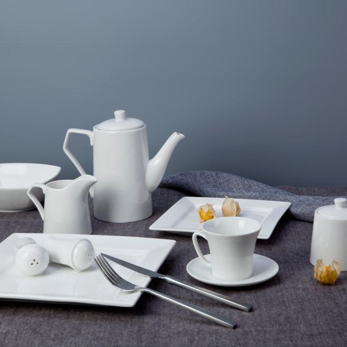 Wholesale cheap bulk dinner plates serving dishes porcelain dinner set