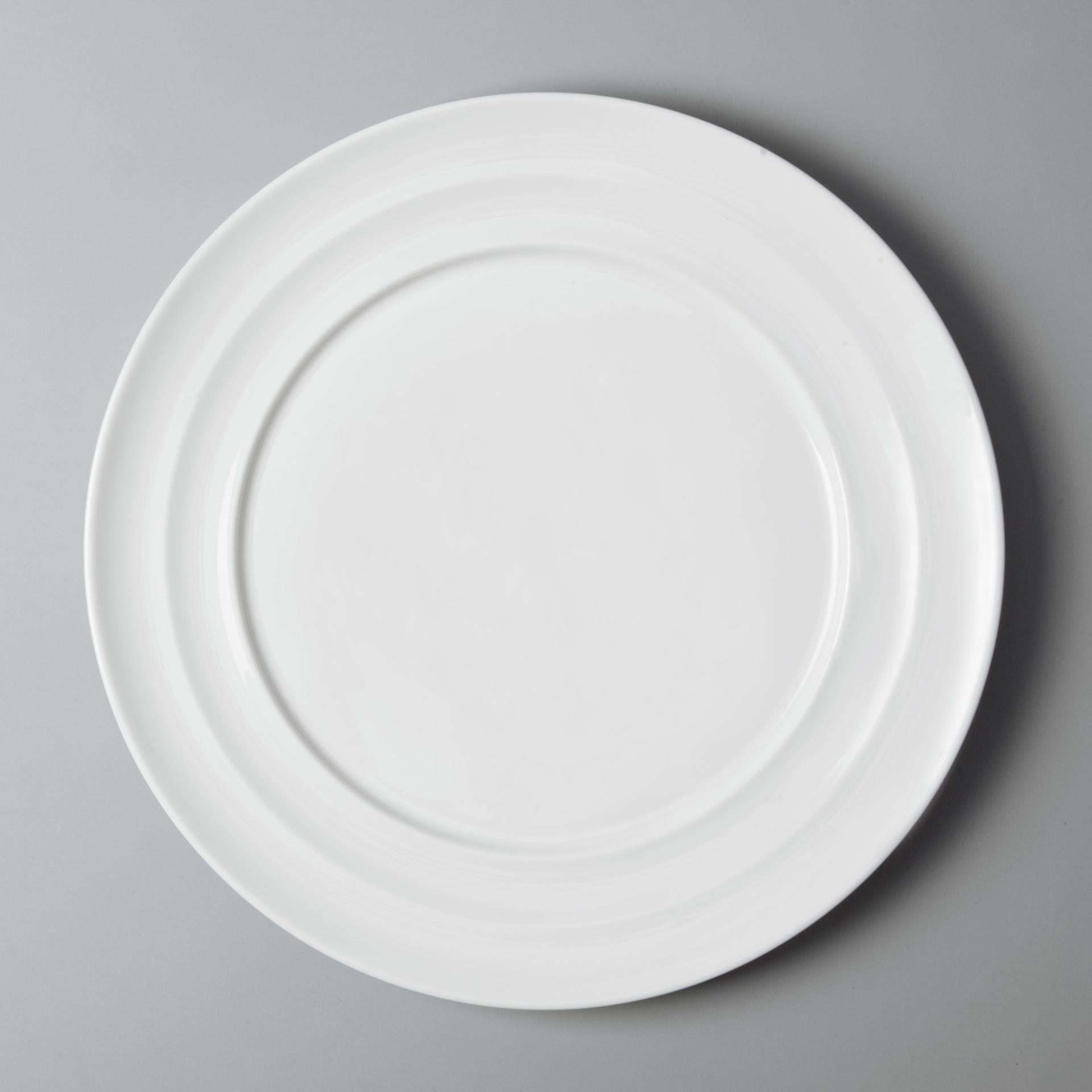 wholesale hotel restaurant crockery tableware white luxury bone china dinner set for wedding