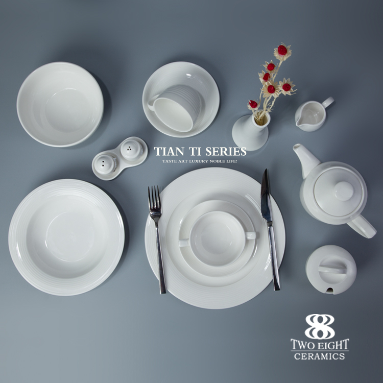 horeca hotel & restaurant bridal brand name supplies dinnerware set crockery