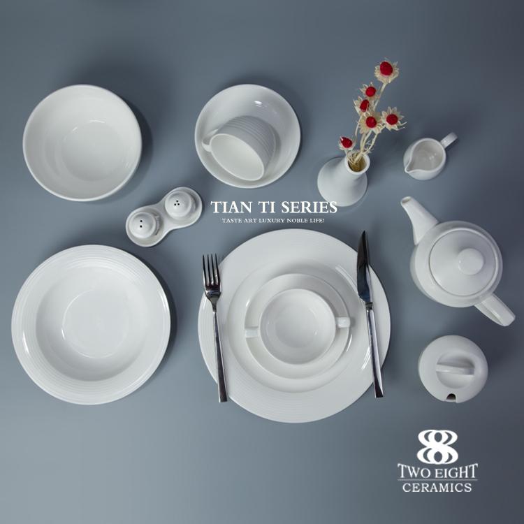 horeca hotel & restaurant bridal brand name supplies dinnerware set crockery