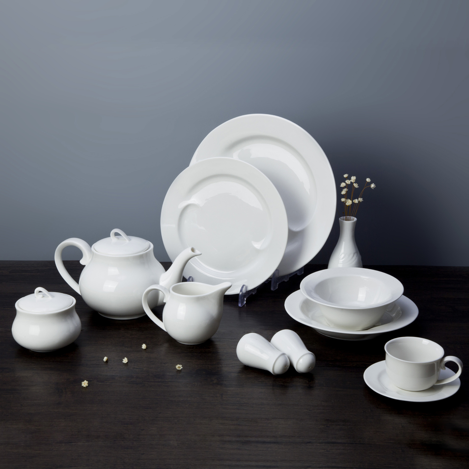 New Product Ideas Livingware Fiesta Alta Calidad Vajilla Dinner Set, Hotel Restaurant Crockery, Fine Dining Dinnerwares