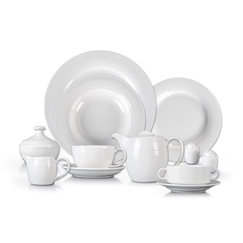 Factory Price Ceramic Porcelain Dinner Set, Banquet Porcelain Dinnerware Sets Luxury Ceramic, Arabic Porcelain Tableware>