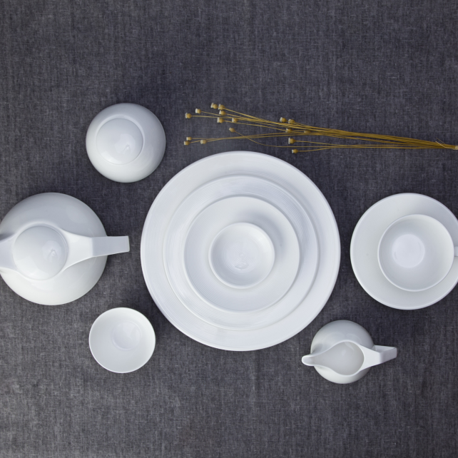 Wholesale modern dining set, italian ceramics dinner ware
