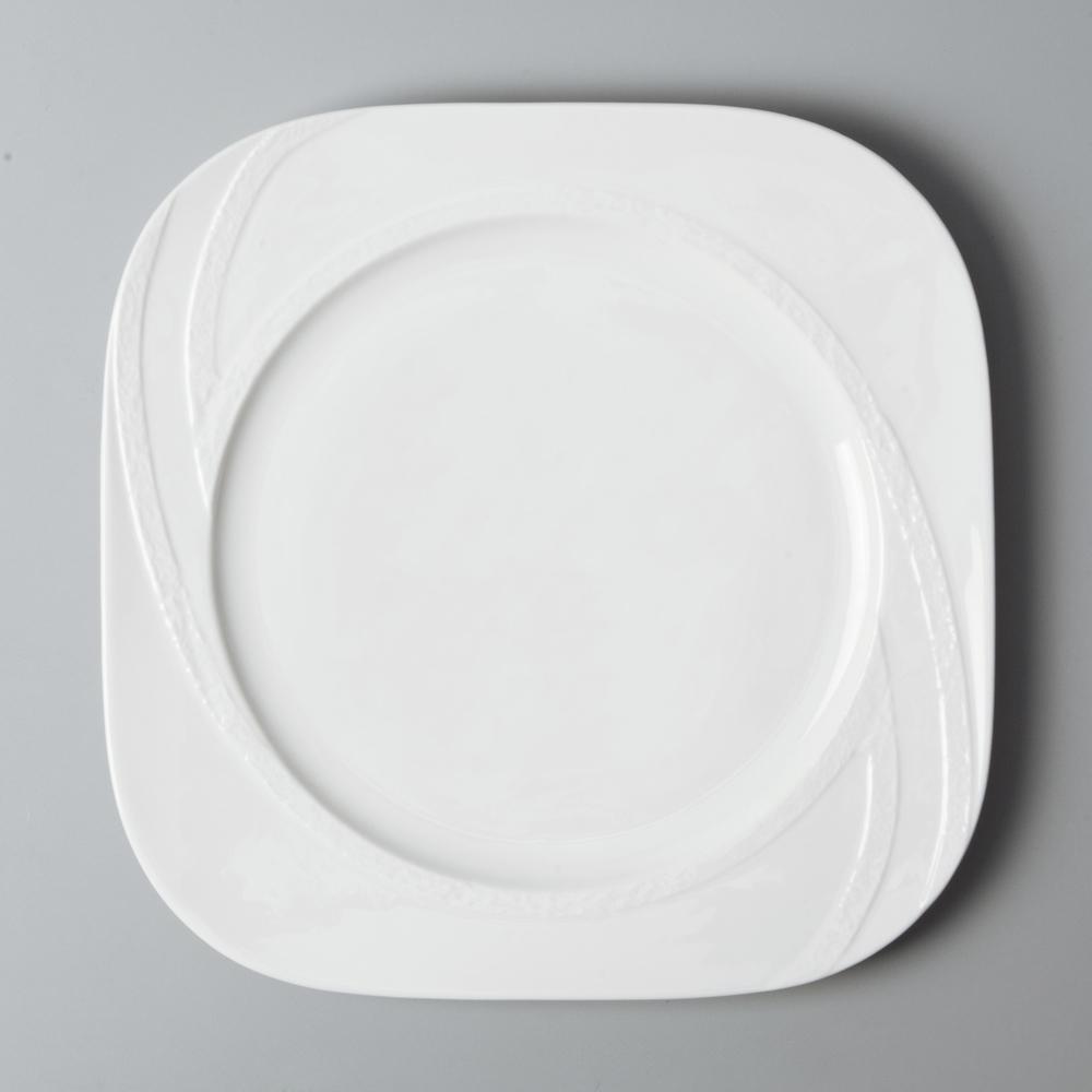 Promotional Customized Logo Ceramics Plate Dinner set , Royal Porcelain Tableware*