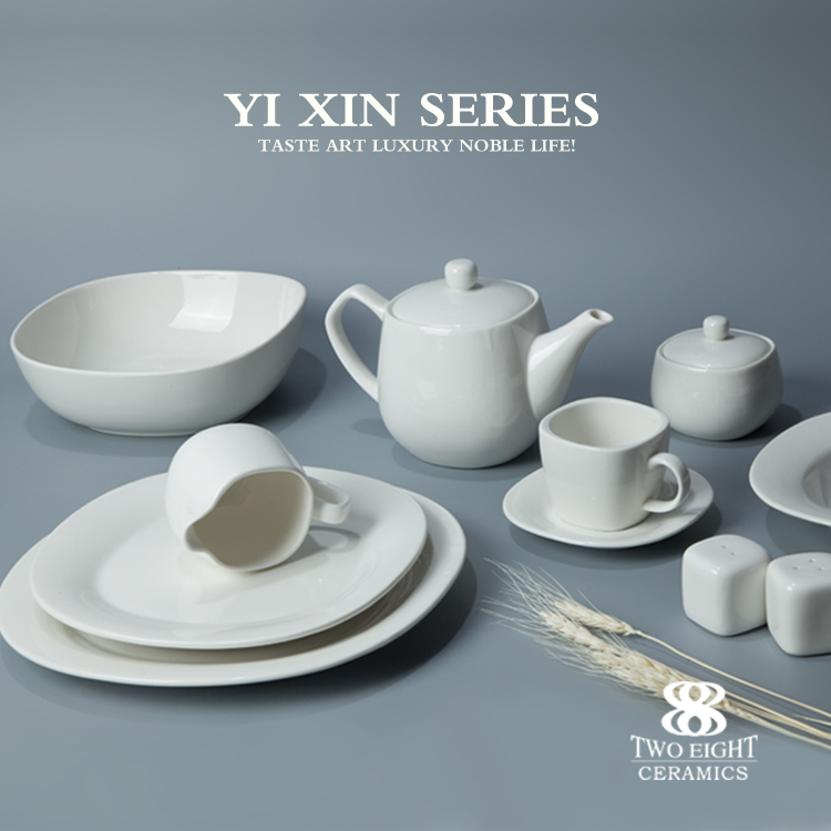 chaozhou porcelain factory , hotel ware porcelain , 16pcs dinner set