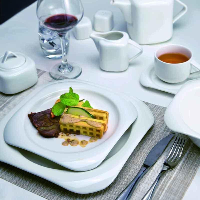 environmentally friendly dubai wholesale market platos de porcelana para restaurante dinnerware sets porcelain