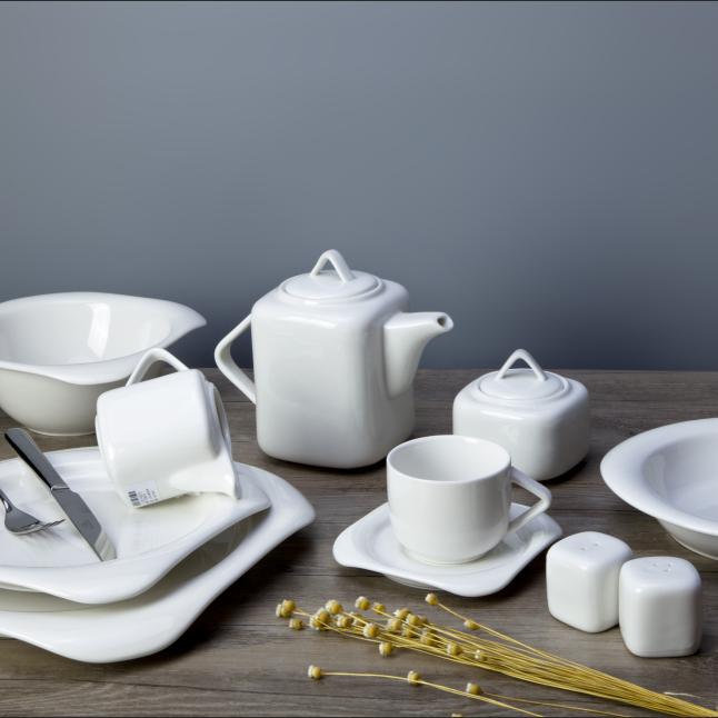Western style restaurant use china porcelain dinnerware set