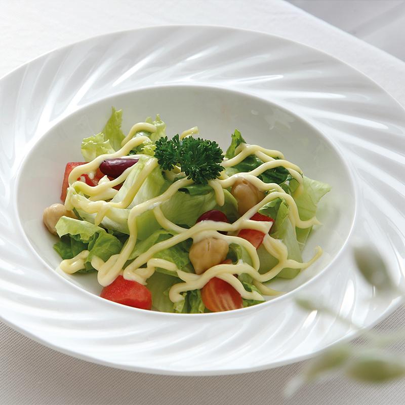 Chinese Porcelain Ceramic Tableware Hotel Restaurant Used Crockery Tableware