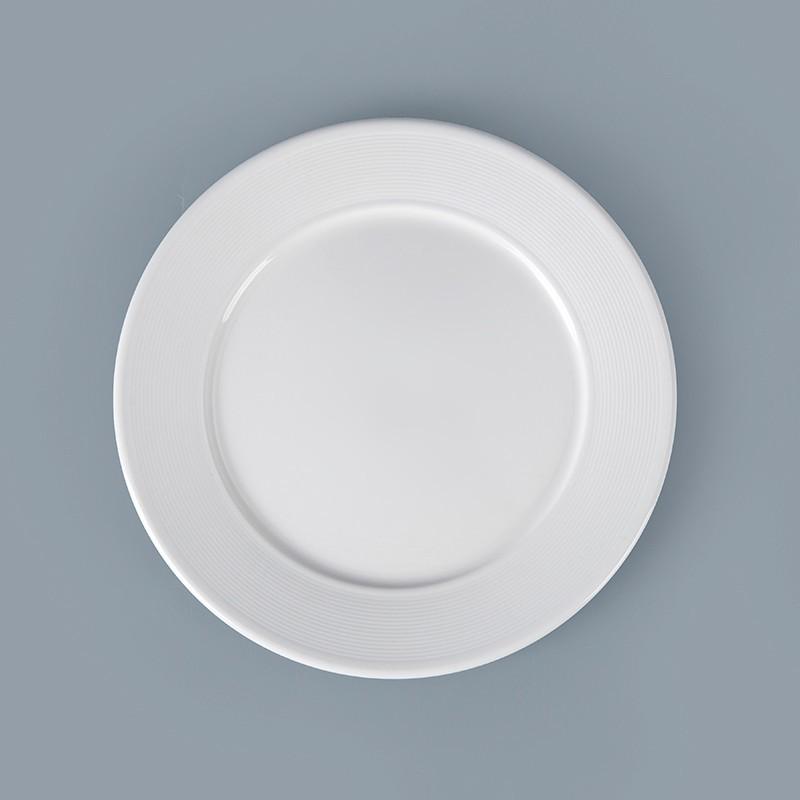 Classic Wholesale White Crockery For Restaurant, Dinnerware Full Set Hotel, Fine Bone China Dinnerware&