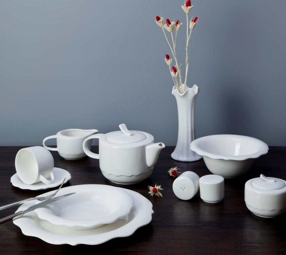 New Design Porcelain Tableware 2018 Good Price High Quality Chinaware, Wholesale Restaurant Crockery%