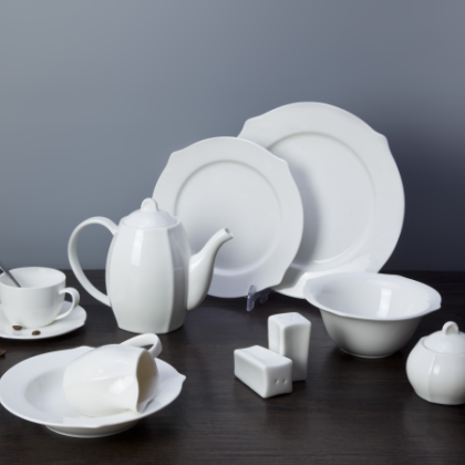 Wholesale western country used restaurant dishes for sale ceramic tableware luxury dinnerware