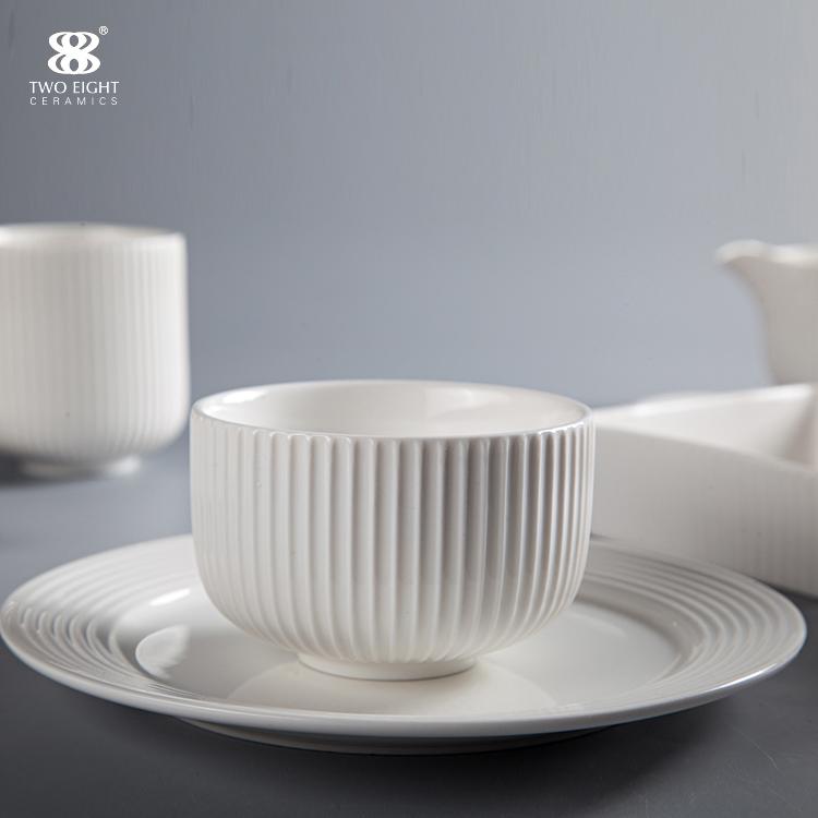 Hotel Tableware Supplierd Tableware Set Dinnerware Set Porcelain, Restaurant Modern Luxury Dinnerware