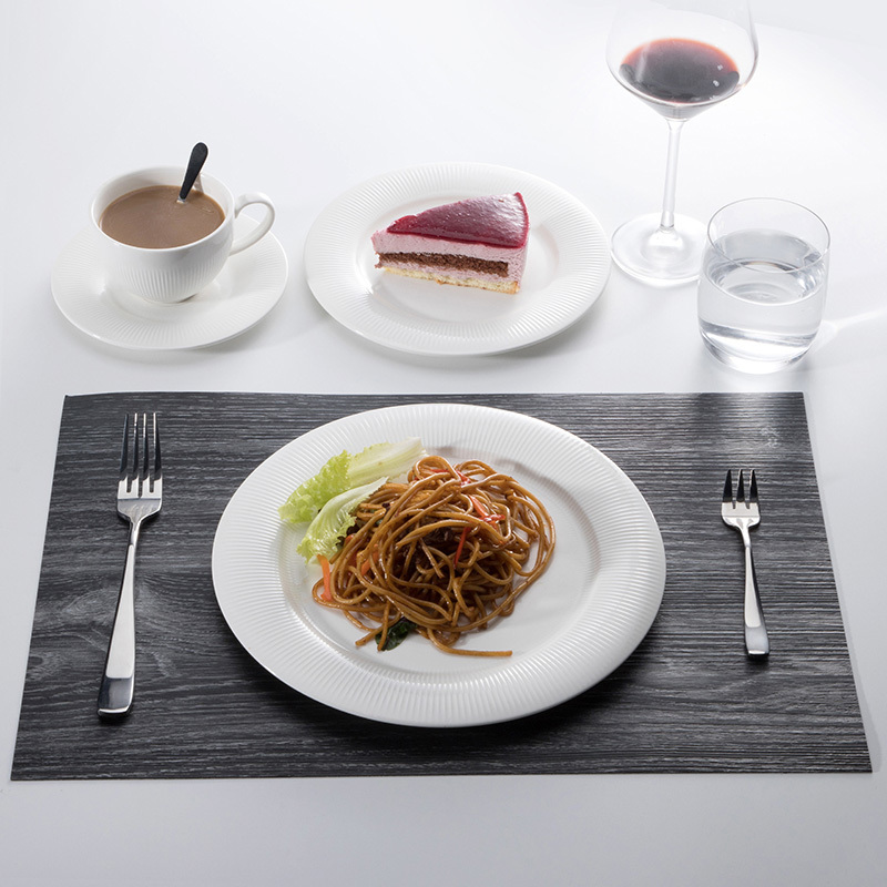 Wholesale Catering Serving Dishes Ceramic, White Porcelain Decorative Plates Wedding Charger,Appetizer plates Tableware Set&