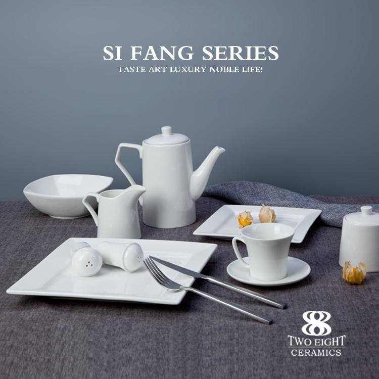 porcelain dinner set, hotel crockery , porcelain plates restaurant earthenware crockery