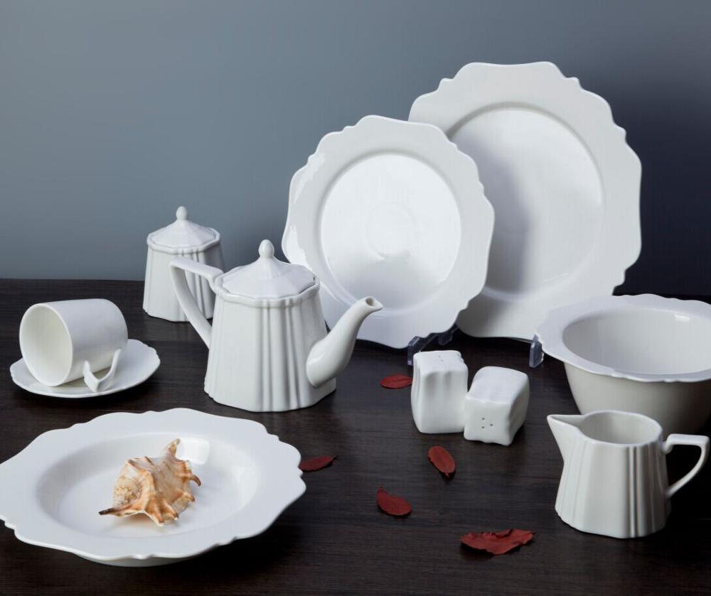 New Product Ideas 2019 Innovative Wedding Plates Sets Dinnerware, White Plates Sets Dinnerware, Buy Bulk Dinnerware Sets
